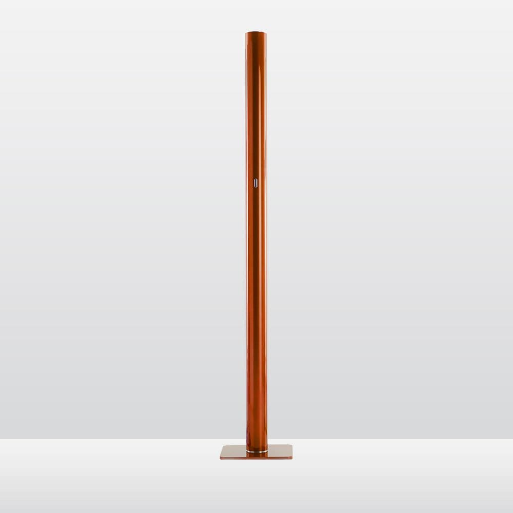 Artemide ilio floor lamp deplain xamber orange amber orange aloadofball Images