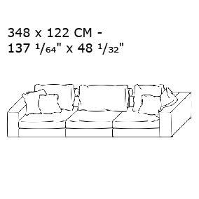 348 X 122 CM