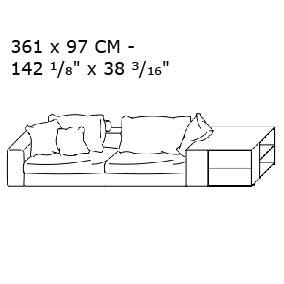 361 x 97 CM - +$12,850.28
