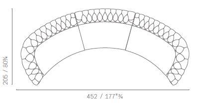 Composizione 9 curved
