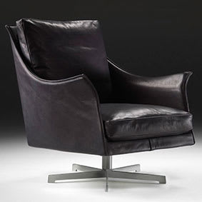 Swivel Armchair 90 x 74 x h.86 cm