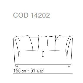 Sofa cm. 155