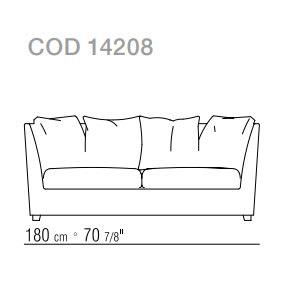 Sofa cm.180
