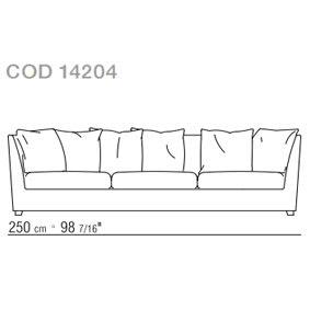 Sofa cm.250