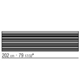 202x52 cm