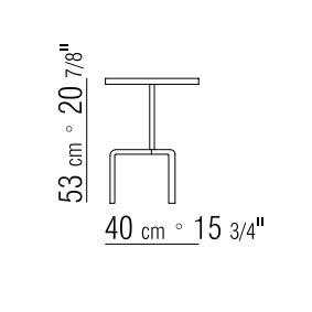 Ø40xh.53 cm