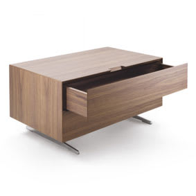 Bed side two drawers