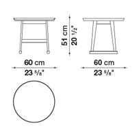 Rotondo ⌀ 60 x h. 51
