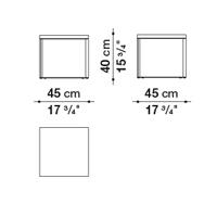 Square 45 x 45 cm
