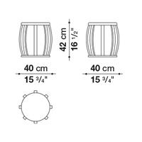⌀ 40 cm