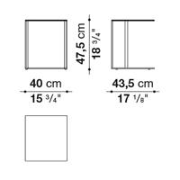 Rectangular 40 x 43.5