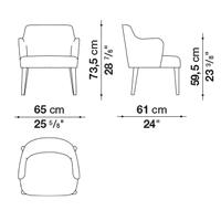 Armrest Wide 73.5 cm