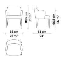 Armrest Wide 80.5 cm