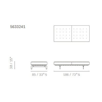 Panca - 5633241 (186x85 cm)
