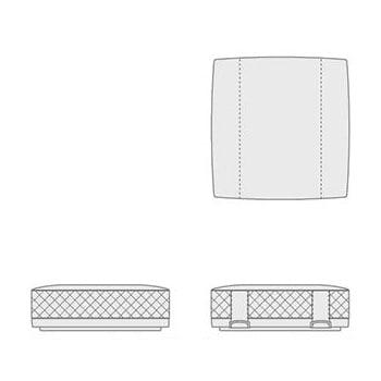 5648542 ottoman DeLuxe type B 110x110