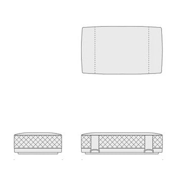 5648532 ottoman DeLuxe Type B 140x80