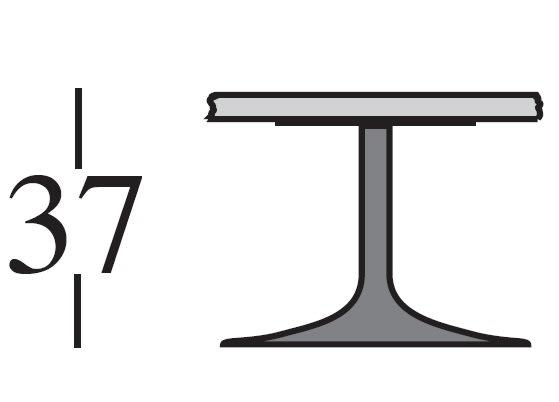 h.37 cm