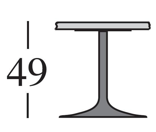 h.49 cm