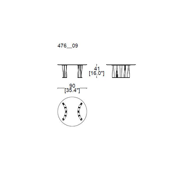 476-09--Ø-90,-h.41cm (semicircular base)
