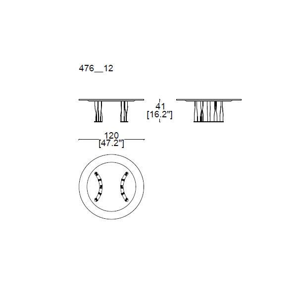 476-12--Ø-120,-h.41cm (semicircular base)