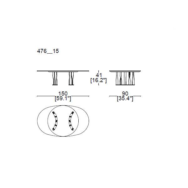476-15-150x90h-41cm (semicircular base)