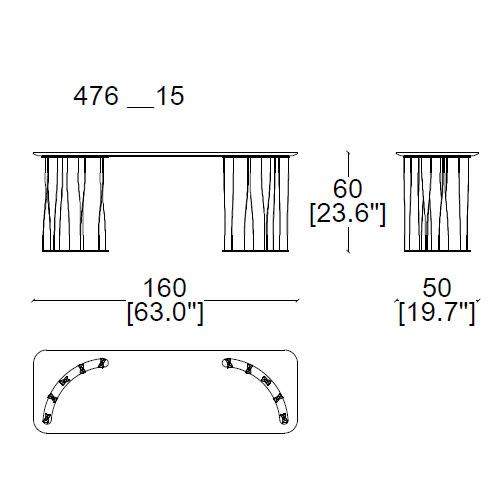 476-15-consolle-160x50xh60cm (semicircular base)