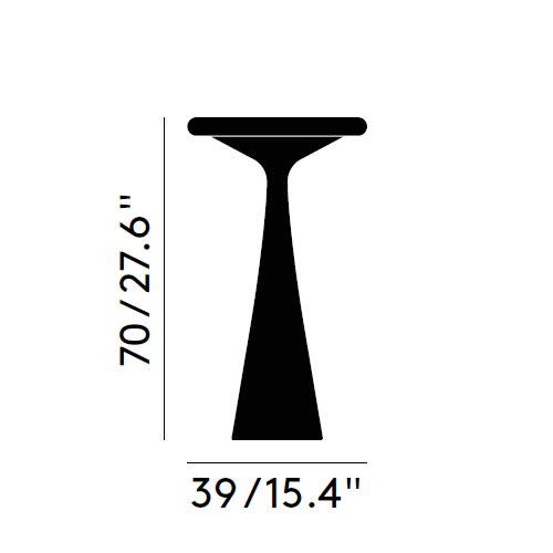 Alto 39xh70 cm