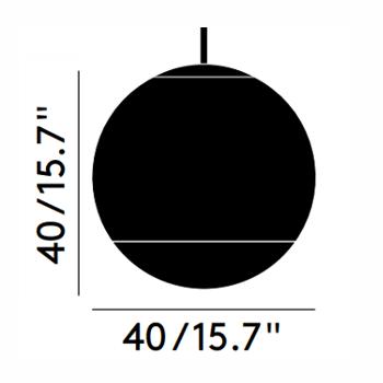 Ø 40cm - +$278.84