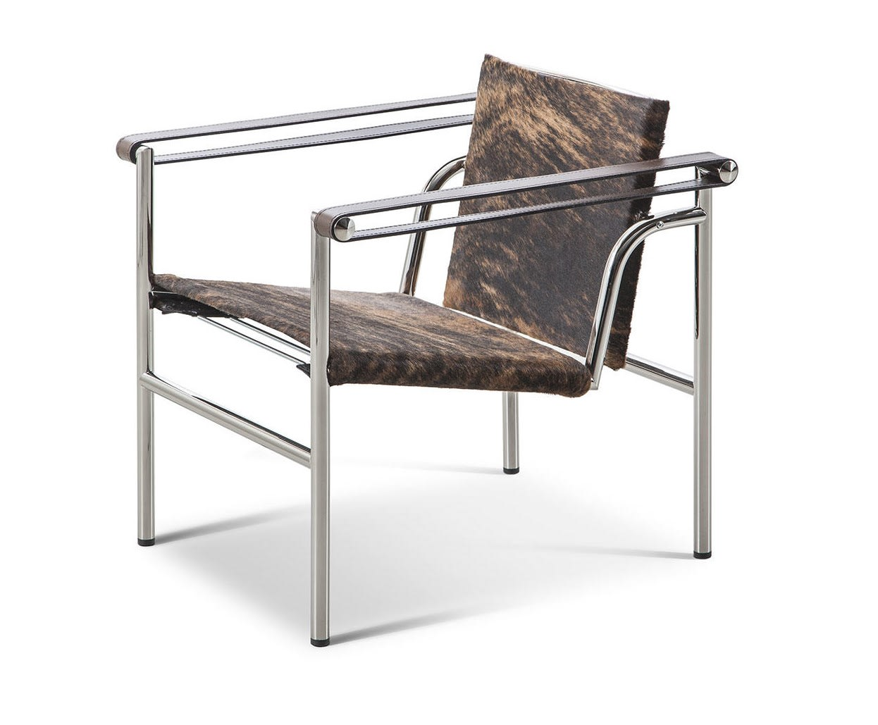 Chromed structure - Tobacco armrests
