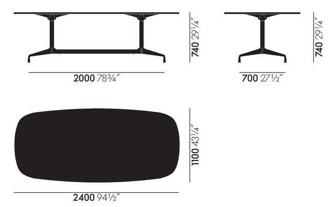 240x110cm - +$1,800.42