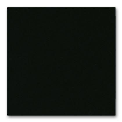powder coated in black