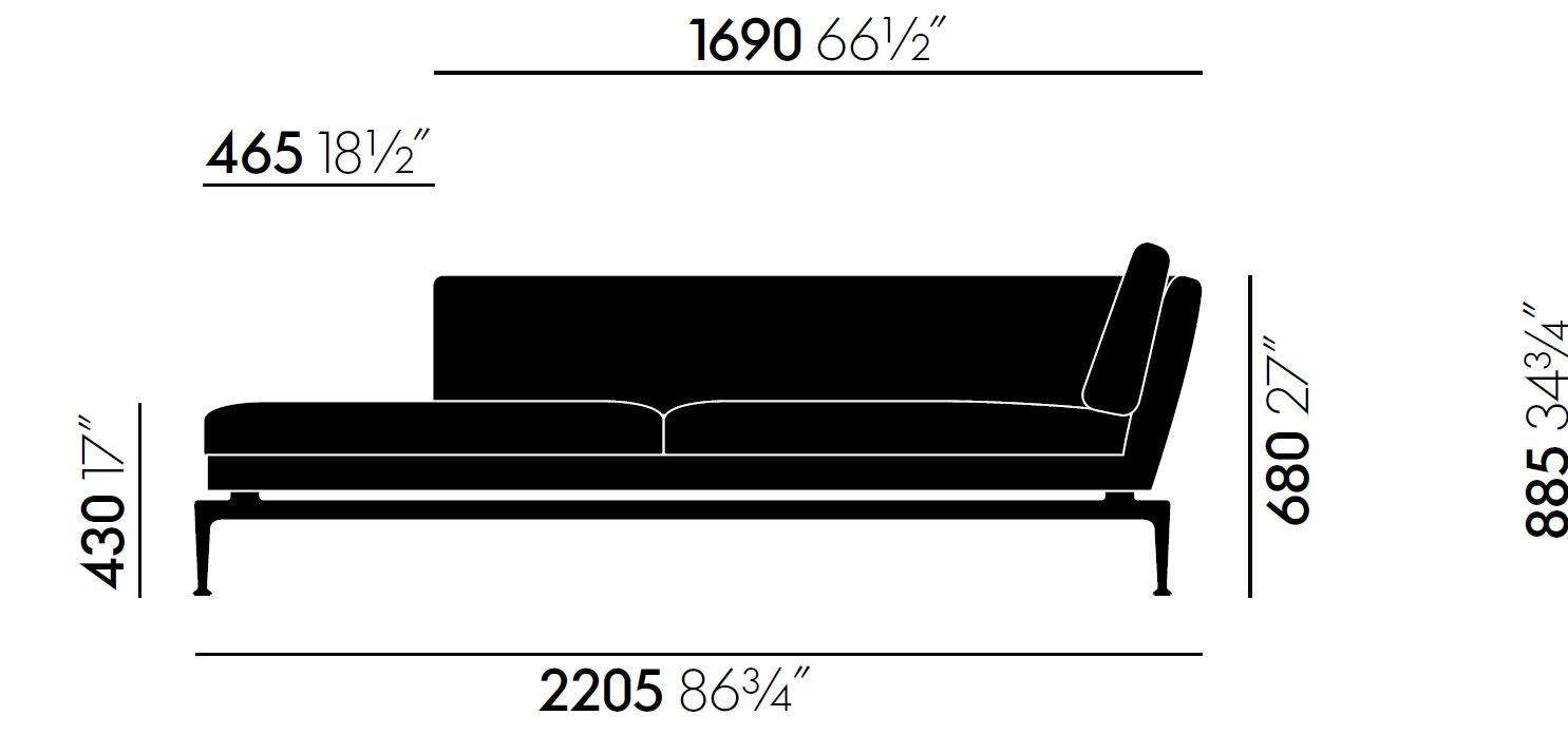 chaise longue large
