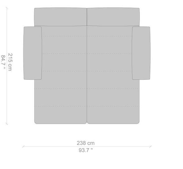 215x238 cm