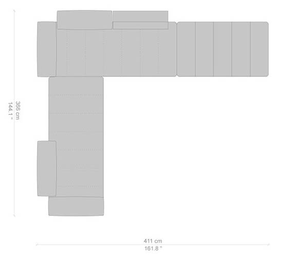 366x411 cm