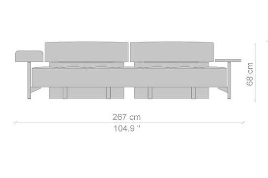 267 cm