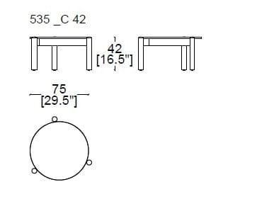 75x42 cm