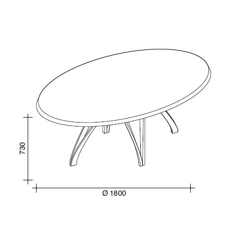 Ø180cm