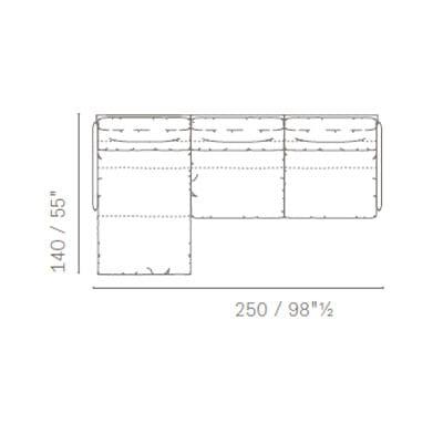 Layout 9 - 140x50 cm