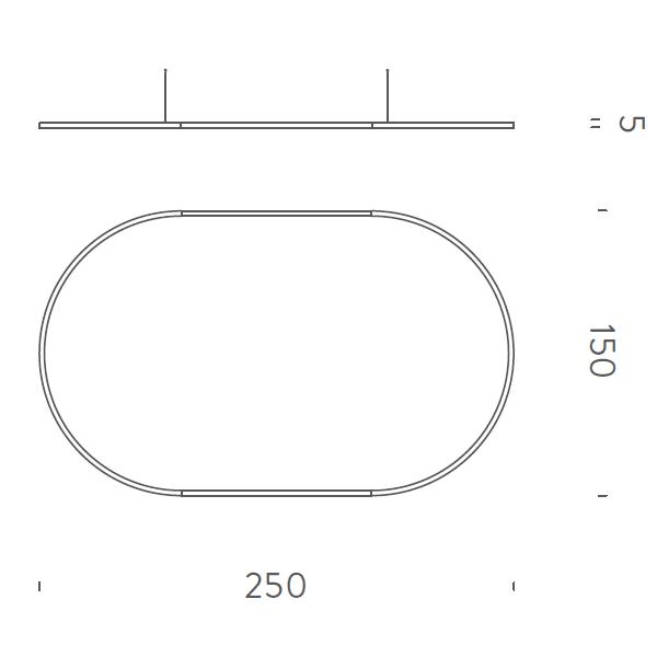 250x150cm Up-Downlight - +$1,343.90