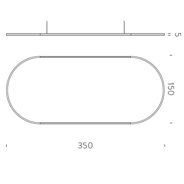 350x150cm Up-Downlight - +$1,707.12