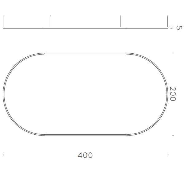 400x200cm Up-Downlight - +$2,796.76