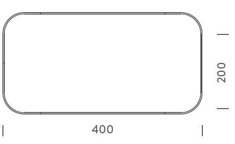 400x200cm