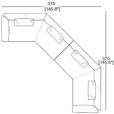 Composition 15-16 (370x370cm)