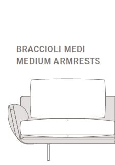 Medium Armrests