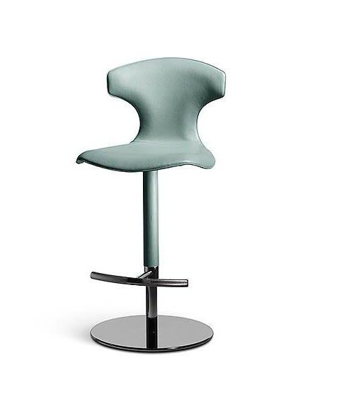 ONLY FOR COLUMN-BASE STOOL -chrome plated steel column