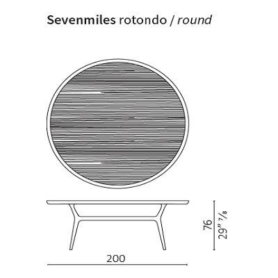 Round 200 cm