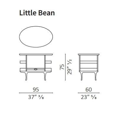 Little Bean H 75 cm