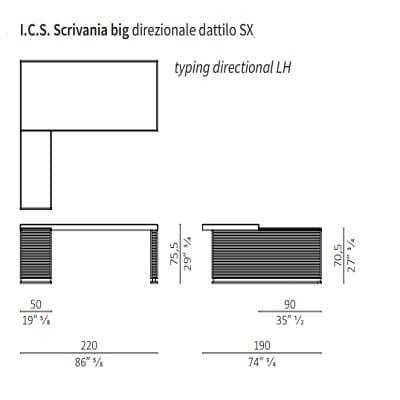 Big direzionale con dattilo SX