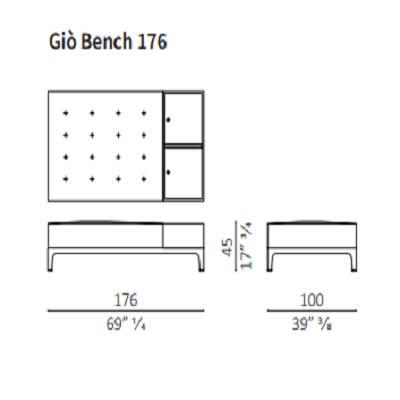 Bench 176 cm