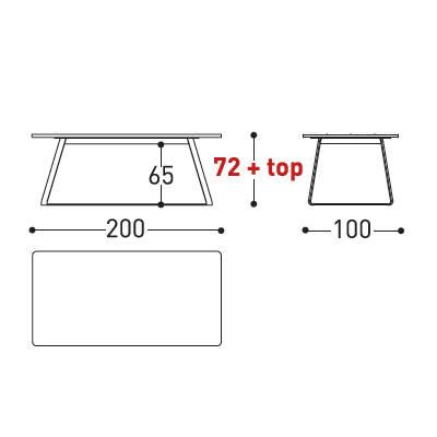 200x100cm